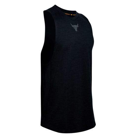 Under Armour Mens Project Rock Charged Cotton Tank, , rebel_hi-res