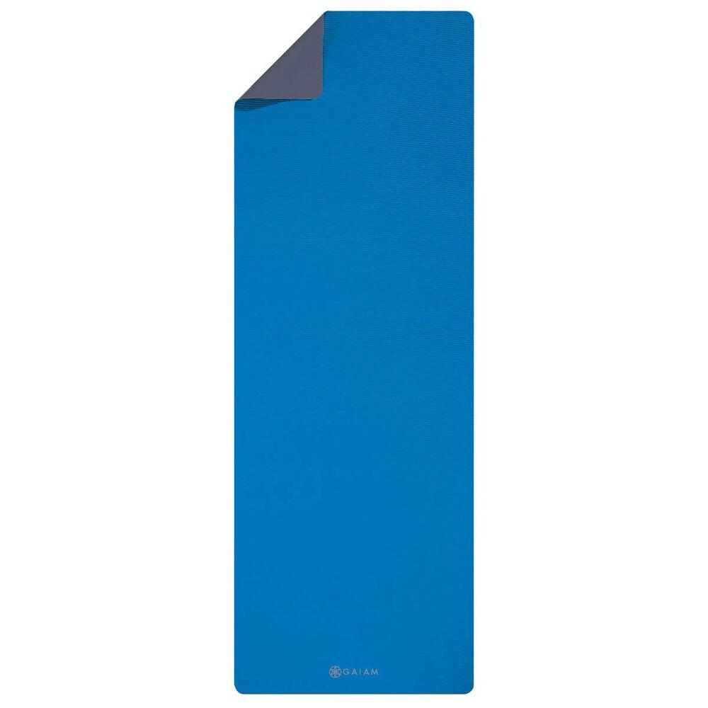 Gaiam Premium Support Yoga Mat Blue