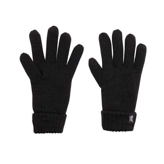 Heat Holders Mens Original Thermal Gloves, Black, rebel_hi-res