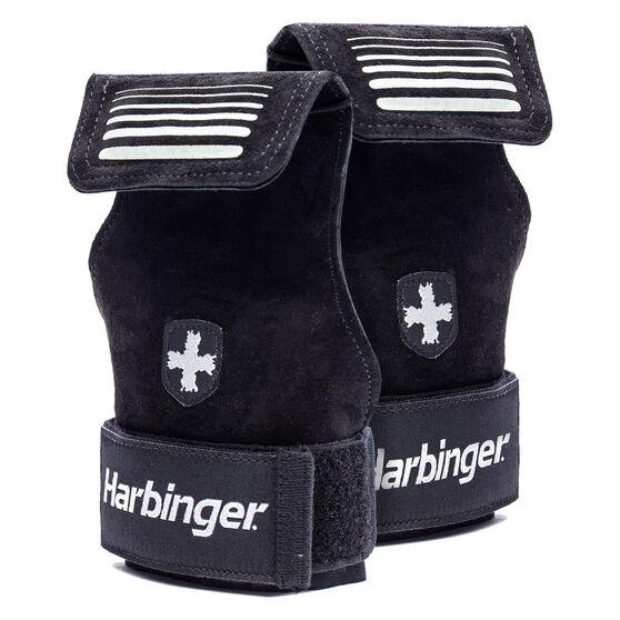 Harbinger Lifting Grips 2 in 1, Black, rebel_hi-res