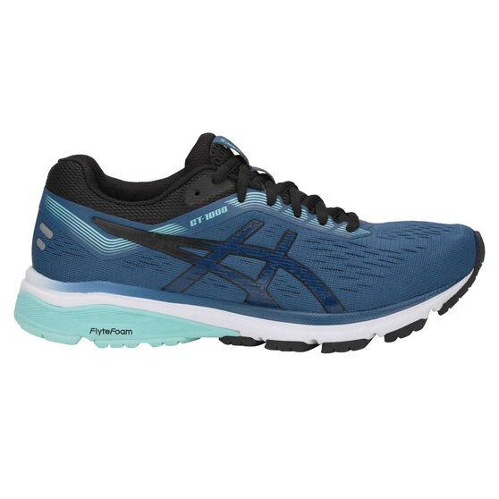 huge selection of b6146 19007 Asics GT 1000 7 D Womens Running Shoes, Blue   Black, rebel hi-res