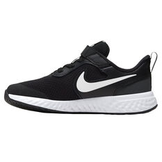 Nike Revolution 5 Kids Running Shoes Black/White US 11, Black/White, rebel_hi-res