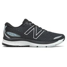 New Balance Solvi v3 Womens Running Shoes Black US 6, Black, rebel_hi-res