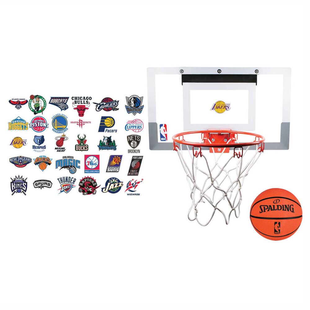 Spalding NBA Slam Jam Over The Door Basketball Ring  5fb7fc097a73