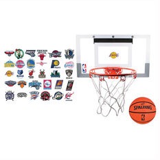 Spalding NBA Slam Jam Over The Door Basketball Ring, , rebel_hi-res