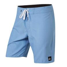 "Quiksilver Mens Everyday Solid Short 19"" Board Shorts Blue / Multi 30, Blue / Multi, rebel_hi-res"