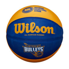 Wilson NBL Brisbane Bullets Basketball, , rebel_hi-res