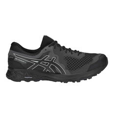 Asics GEL Sonoma 4 GTX Mens Trail Running Shoes Black / Grey US 7, Black / Grey, rebel_hi-res