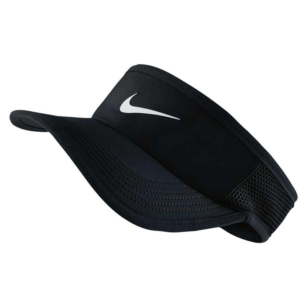 26ecc493adb Nike Nike Featherlight Tennis Visor Black M   L