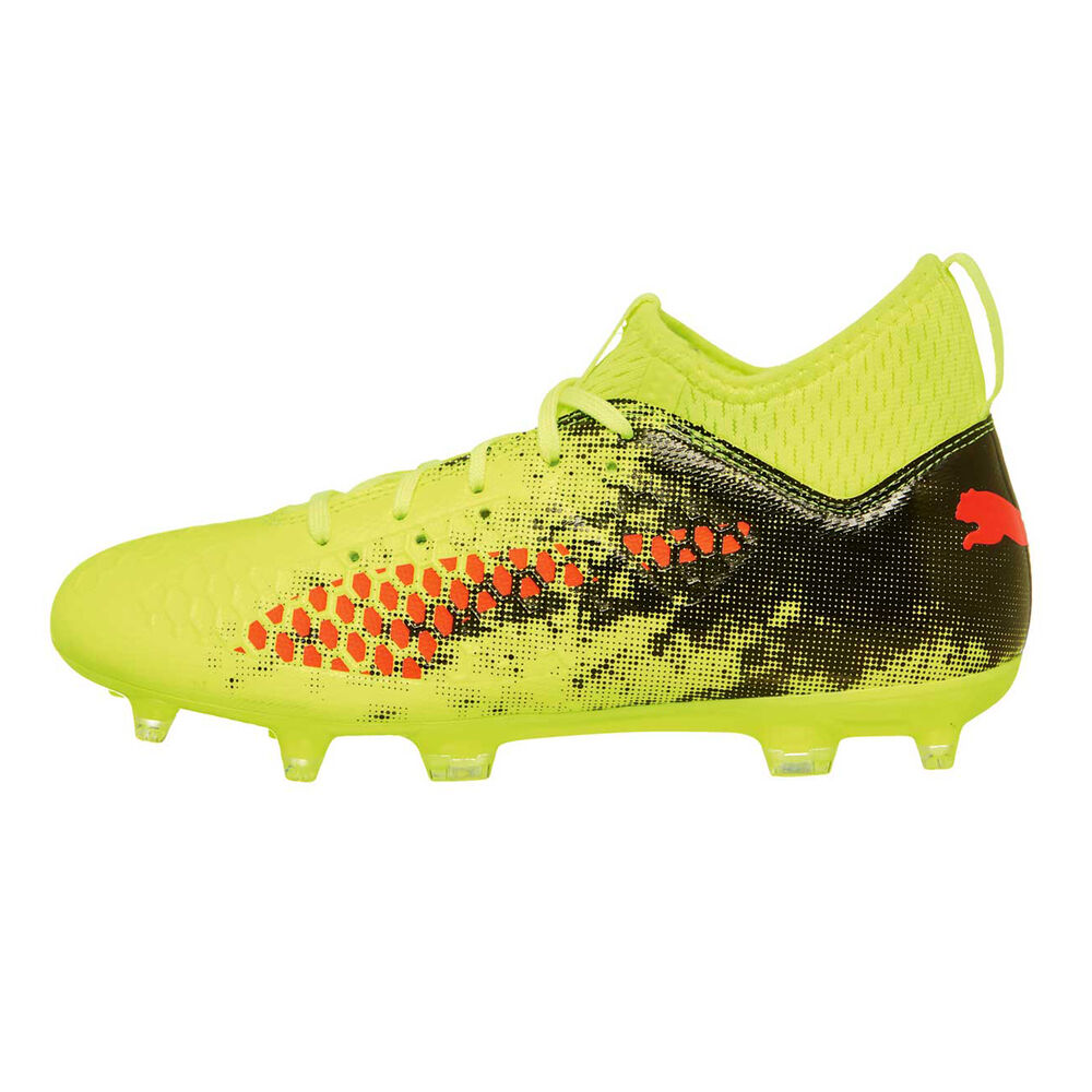 united kingdom wide varieties hot products Puma Future 18.3 hyFG Kids Football Boots Yellow / Red US 1 Junior