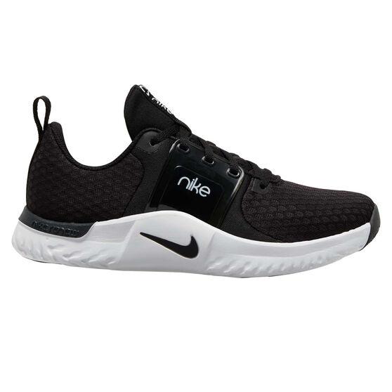 Nike Renew In-Season TR 10 Womens Training Shoes, Black/Grey, rebel_hi-res