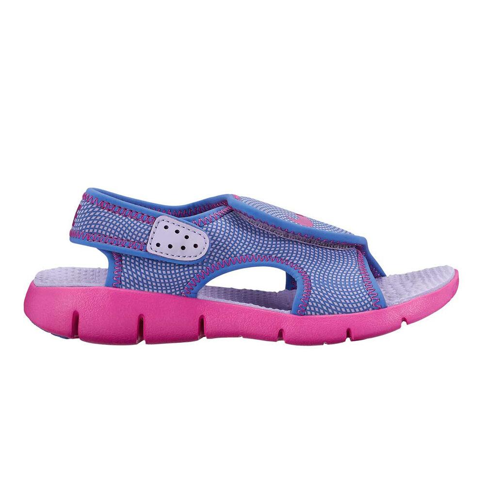 655b1e8ed20d Nike Sunray Adjustable 4 Girls Sandals Purple   pink US 11