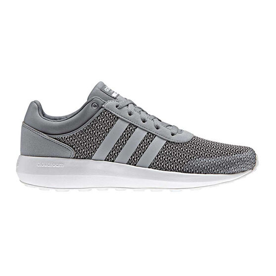 new concept d8334 0a98f adidas Cloudfoam Race Mens Casual Shoes Grey  White US 10, Grey  White,