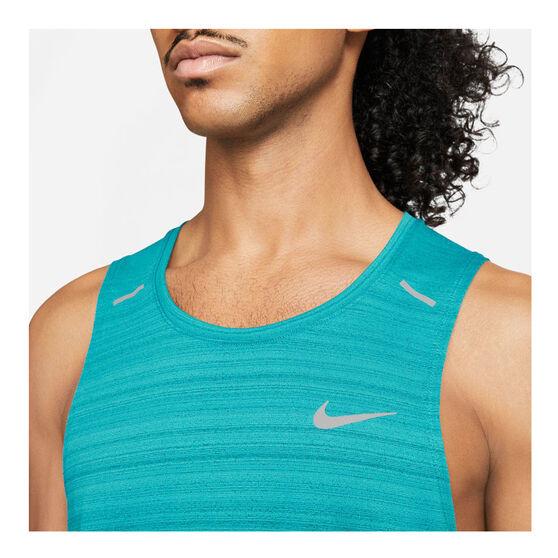 Nike Mens Dri-FIT Miller Tank, Blue, rebel_hi-res