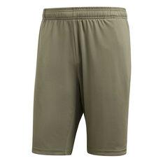 adidas Mens 4KRFT Prime Shorts Beige S, Beige, rebel_hi-res