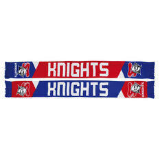 Newcastle Knights Geo Jacquard Scarf, , rebel_hi-res