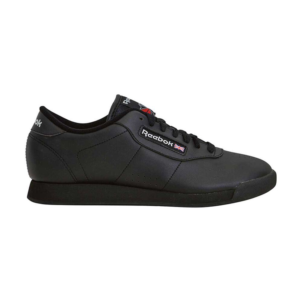 01982393031 Reebok Princess Womens Walking Shoes Black US 6