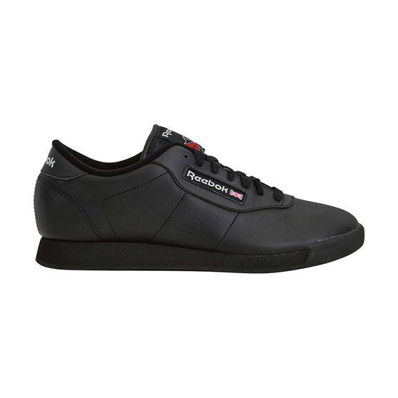 350a31a3b78408 Reebok Princess Womens Walking Shoes Black US 6