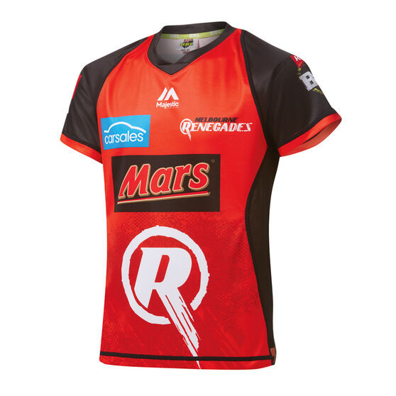 Melbourne Renegades 2019 Womens BBL Jersey Red L, Red, rebel_hi-res