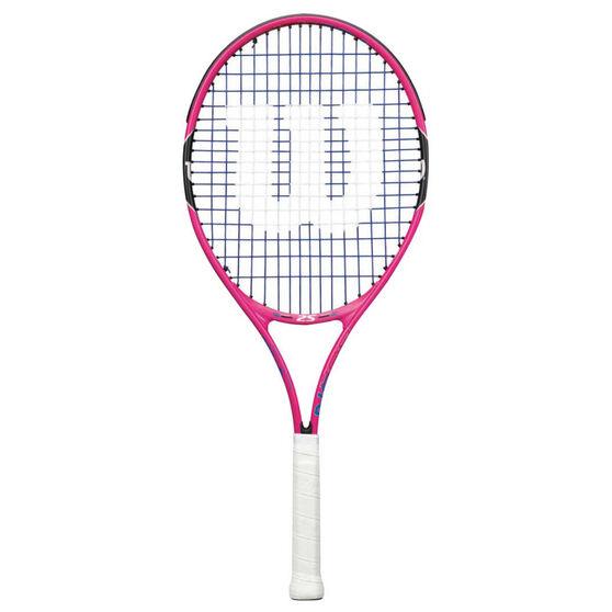 Wilson Burn Pink 25 Junior Tennis Racquet Pink / Back 25in, , rebel_hi-res