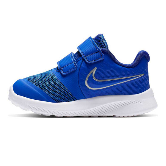 Nike Star Runner 2 Toddlers Shoes, Blue / White, rebel_hi-res