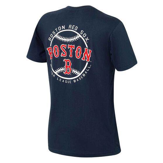 Boston Red Sox Mens Kardy Tee, Navy, rebel_hi-res
