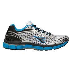 Diadora TL Vigor Mens Running Shoes White / Blue US 7, White / Blue, rebel_hi-res