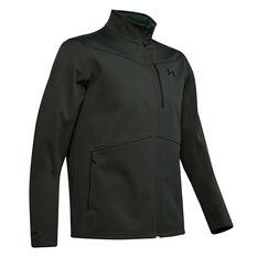 Under Armour Mens ColdGear Infrared Shield Jacket Green S, Green, rebel_hi-res