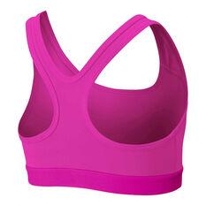 Nike Girls Sports Bra Pink XS, Pink, rebel_hi-res