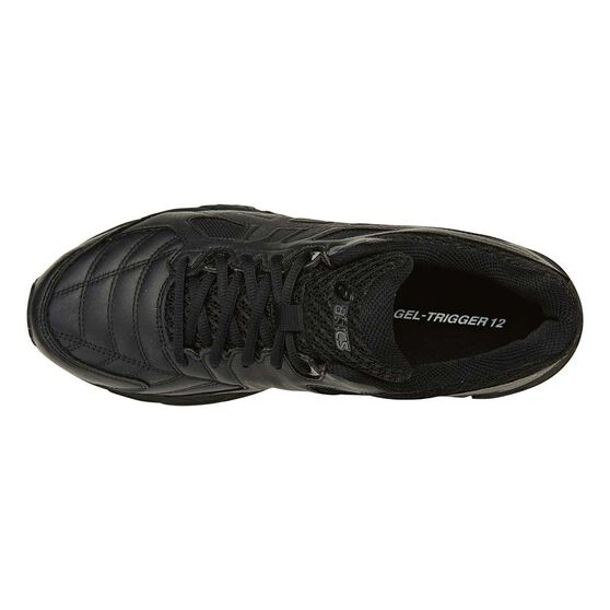 Asics Gel Trigger 12 Mens Cross Training Shoes, Black, rebel_hi-res