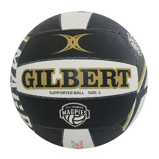 Gilbert Collingwood Magpies Training Netball Multi 5, , rebel_hi-res