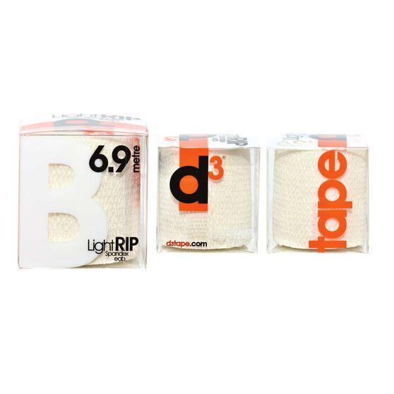 D3 LIGHT RIP Spandex Adhesive Bandage White, White, rebel_hi-res