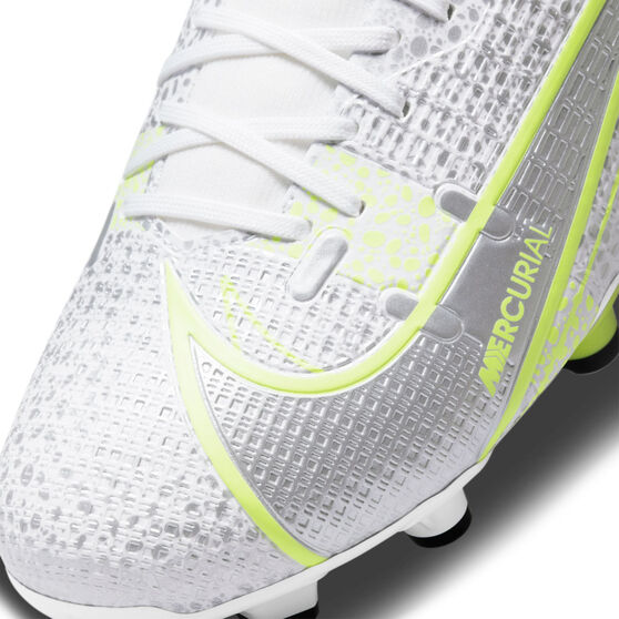 Nike Mercurial Superfly 8 Academy Football Boots Silver/Volt US Mens 5 / Womens 6.5, Silver/Volt, rebel_hi-res