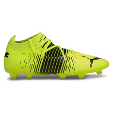 Puma Future Z 3.1 Football Boots Yellow US Mens 7 / Womens 8.5, Yellow, rebel_hi-res