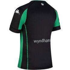 Western United FC 2020/21 Junior Home Jersey Black / Green 8, Black / Green, rebel_hi-res