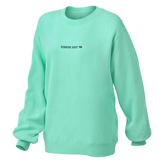 Running Bare Womens Legacy Crew Sweater, , rebel_hi-res