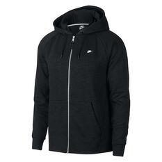 Nike Mens Sportswear Optic Hoodie Black S, Black, rebel_hi-res