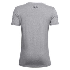 Under Armour Boys Project Rock Brahma Bull Tee, Grey, rebel_hi-res
