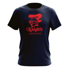 Newcastle Knights Mens Outline Tee, , rebel_hi-res