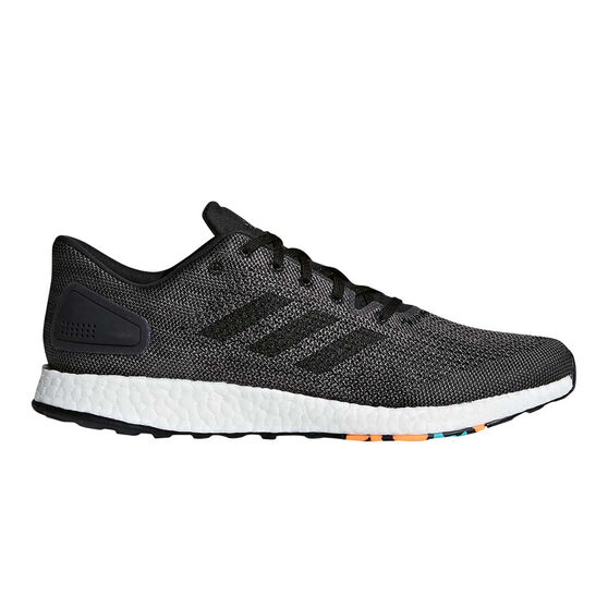 adidas PureBOOST DPR Mens Running Shoes, Black / White, rebel_hi-res