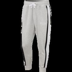 Nike Air Mens Fleece Pants Grey XS, Grey, rebel_hi-res
