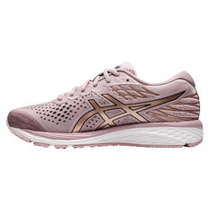 Asics GEL Cumulus 21 Womens Running Shoes Pink / Rose Gold US 6, Pink / Rose Gold, rebel_hi-res
