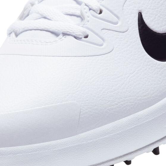 Nike Infinity G Golf Shoes, White/Black, rebel_hi-res