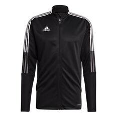adidas Mens Tiro 21 Track Jacket Black XS, Black, rebel_hi-res