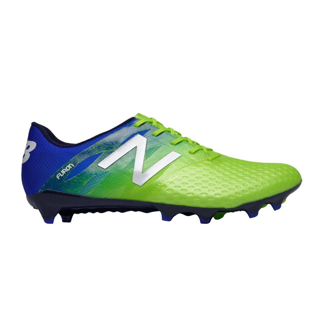 09f1e739f611 New Balance Furon Pro Football Boots Blue / Green US 10 Adult, Blue / Green