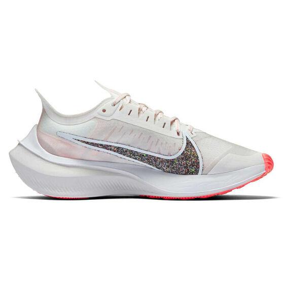 Nike Zoom Gravity Womens Running Shoes, White / Grey, rebel_hi-res