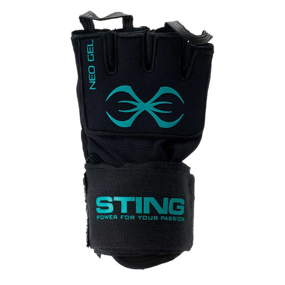 Sting Gel Quick Wraps, Black, rebel_hi-res