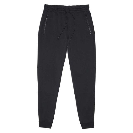 Coverse Mens Court Slim Pants Black L, Black, rebel_hi-res