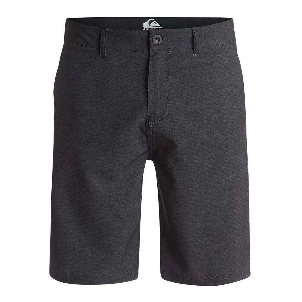b80cb0ee85e Quiksilver Mens Platypus Amphibian Board Shorts Black 30 Adult ...