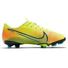 Nike Mercurial Vapor XIII Academy MDS Football Boots Yellow/Black US 1, Yellow/Black, rebel_hi-res
